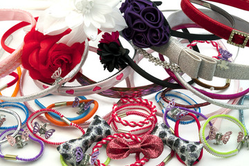 Hair Accessories including hair bands, grips and bobbles