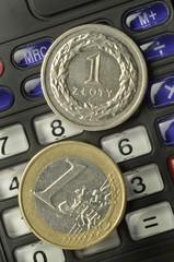 Polski złoty Euro Polish Poljski zlot Польский злотый 폴란드 즈워티