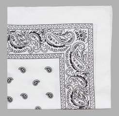 white bandanna