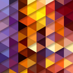 Abstract triangle background. Vector pattern