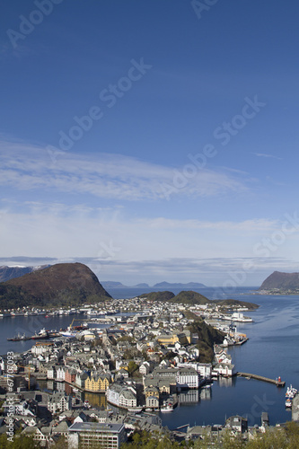 canvas print picture Alesund