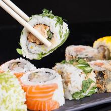 Japanische Meeresfrüchte, Sushi-Set