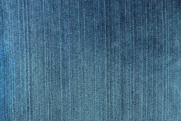 Blue denim jeans texture.