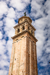 Historic tower in Venice