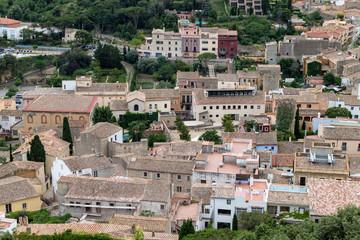 begur town view