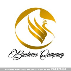 logo, animals, birds, illustrations, swan, vector, jeweller