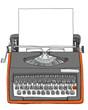 Vintage Bulgarian  Manual Typewriter with paper - 67709295