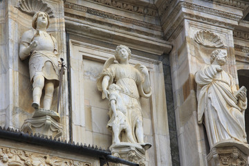 Detail of Renaissance facade