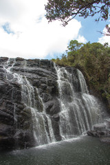 Wasserfall, Horton Plains National Park, Sri Lanka