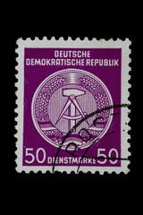 Historische Briefmarke aus DDR