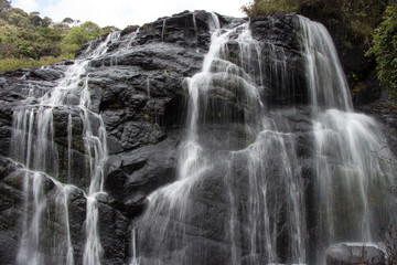Waterfall, Horton Plains National Park, Sri Lanka