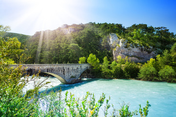Bridge over le verdon