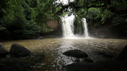 Haew Su Wat Waterfall, Khao Yai National park, Thailand.