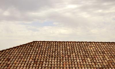Italienische Dachziegel