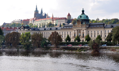 view of the Castle in Prague, Czech Republic, Europe