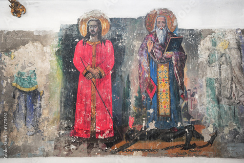 Artwork of the St. Spiridione church at Berat - 67711451