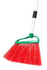 a red broom
