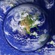 Unusual Earth Button