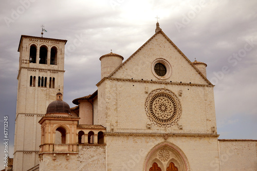 canvas print picture Basilika San Francesco