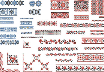 Patterns for Embroidery Stitch