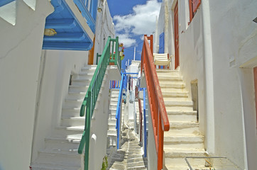 mykonos - twin steps
