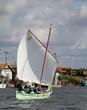 voilier ancien, vieux gréement,bassin d'arcachon