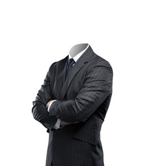 businessman without a head
