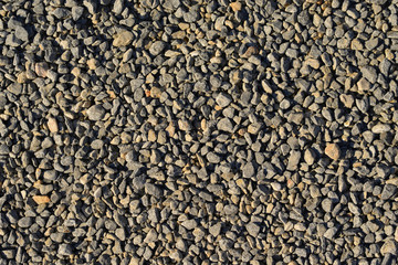 The gray chippings