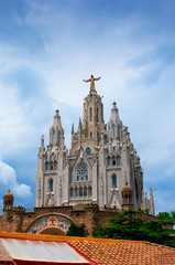 Expiatory Church of the Sacred Heart of Jesus  on summit of Moun