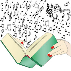 A music book
