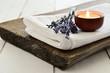Leinwanddruck Bild - Lavender aroma theraphy