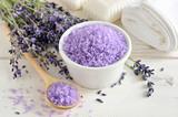 Fototapety Lavender sea salt