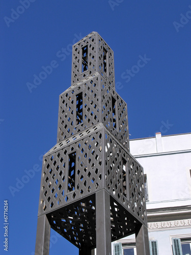 canvas print picture TORRE IN MALAGA