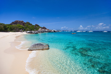 Spring bay at Virgin Gorda, BVI