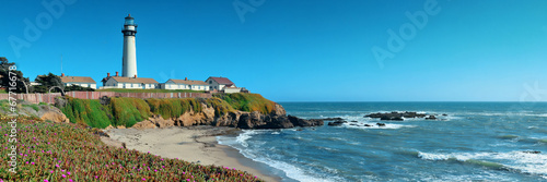 canvas print picture Pigeon Point lighthouse