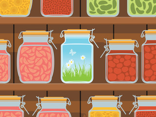 Summer in the jar