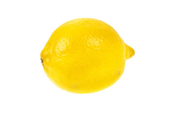 lemon on isolated background