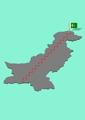 pakistanda maraton koşusu
