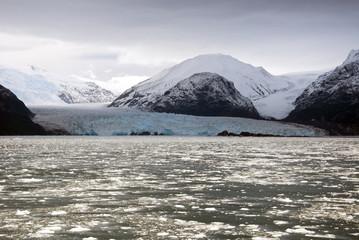 Chile - Amalia Glacier Landscape - Skua Glacier