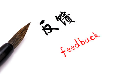feedback in Chinese