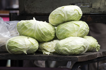 image of cabbage on the table