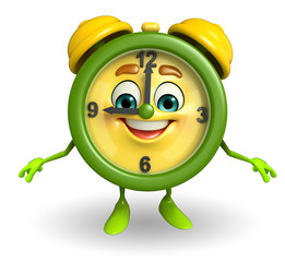 happy Table clock character