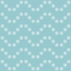Seamless sea pattern with hand wheels