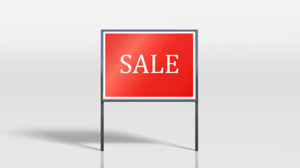 shop signage stands sale