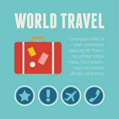 Travel Infographic Element