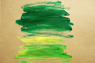 watercolor paint green strokes brush stroke color texture