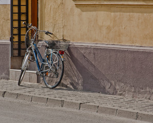 Street And Bicycle