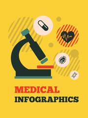 Medical Infographic Element