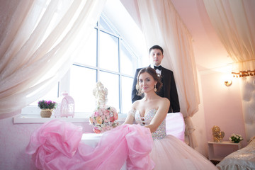 wedding young couple