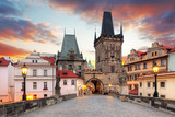 Prague View from Charles Bridge